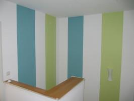 Treppenhaus gestalten farbe  Malermeister Martin Becker - Innenbereich